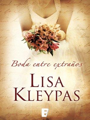 cover image of Una boda entre extraños (Vallerands 1)
