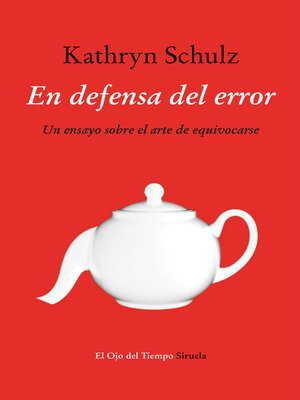 cover image of En defensa del error