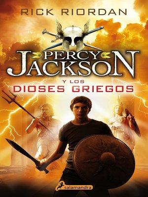 cover image of Percy Jackson y los Dioses Griegos