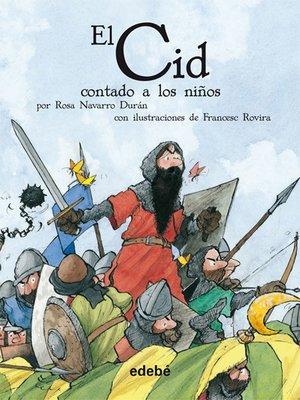 cover image of El Cid contado a los niños