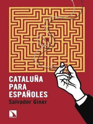 cover image of Cataluña para españoles