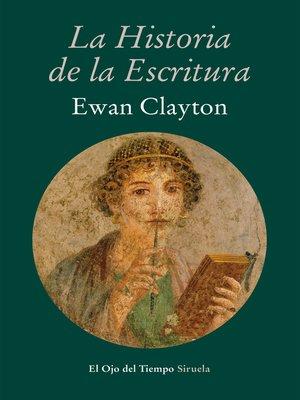 cover image of La historia de la escritura