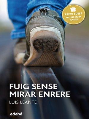 cover image of Premi Edebé 2016