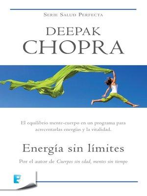 cover image of Energía sin límites (Colección Salud Perfecta)
