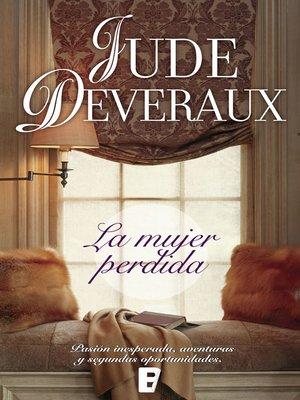 cover image of La mujer perdida (Serie James River 2)