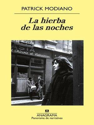 cover image of La hierba de las noches