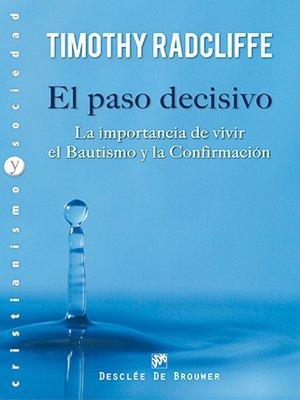 cover image of El paso decisivo