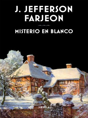cover image of Misterio en blanco