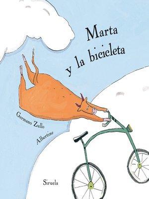 cover image of Marta y la bicicleta