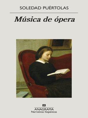 cover image of Música de ópera