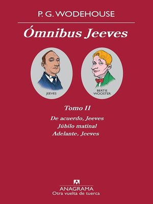 cover image of Ómnibus Jeeves (Tomo II)