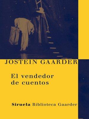cover image of El vendedor de cuentos