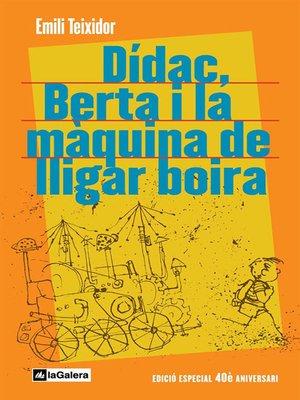 cover image of Dídac, Berta i la màquina de lligar boira