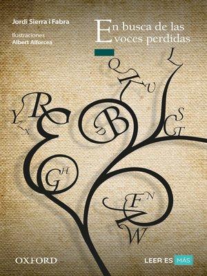 cover image of En busca de las voces perdidas