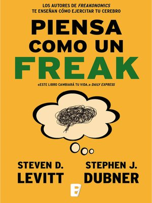 cover image of Piensa como un freak