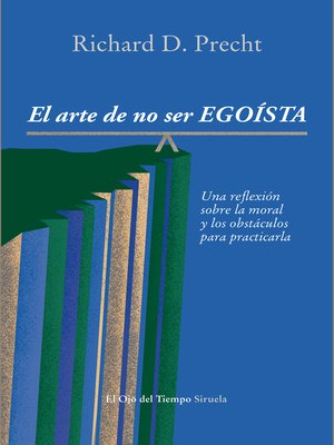 cover image of El arte de no ser egoísta