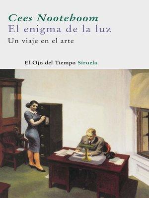 cover image of El enigma de la luz