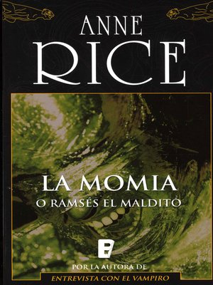cover image of La momia