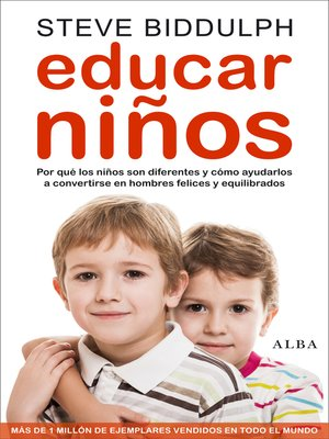 cover image of Educar niños