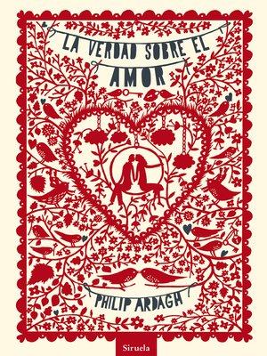 cover image of La verdad sobre el amor