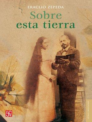 cover image of Sobre esta tierra