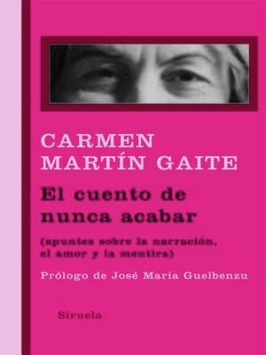 cover image of El cuento de nunca acabar