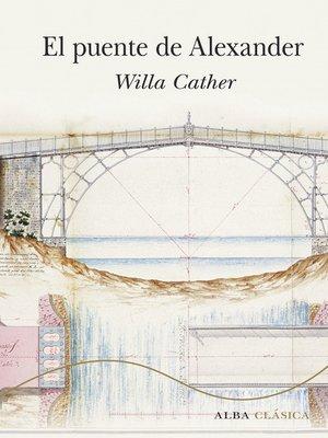 cover image of El puente de Alexander