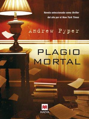 cover image of Plagio mortal