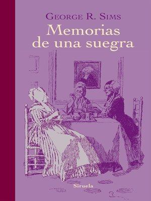 cover image of Memorias de una suegra