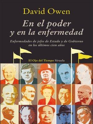 cover image of En el poder y en la enfermedad