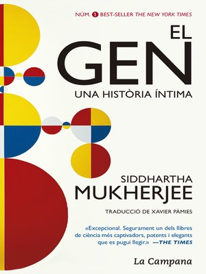 cover image of El gen. Una història íntima