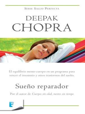 cover image of Sueño reparador (Colección Salud Perfecta)