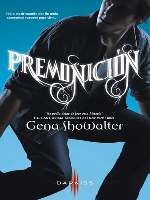cover image of Premonición