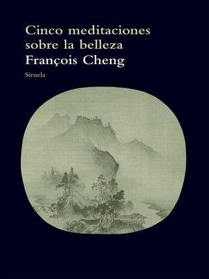 cover image of Cinco meditaciones sobre la belleza