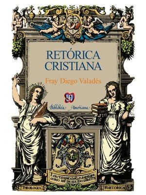 cover image of Retórica cristiana