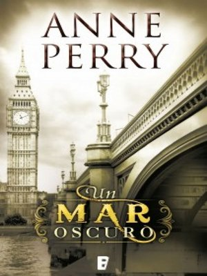 cover image of Un mar oscuro (Detective William Monk 18)