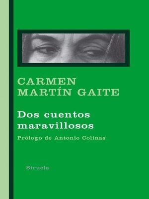 cover image of Dos cuentos maravillosos