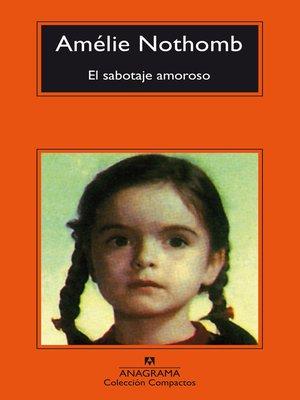 cover image of El sabotaje amoroso