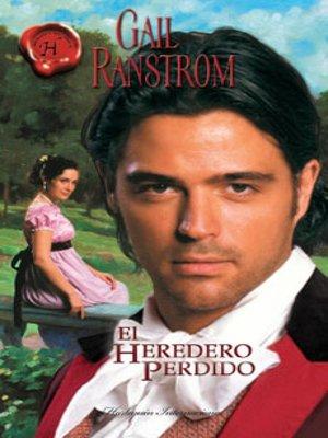 cover image of El heredero perdido