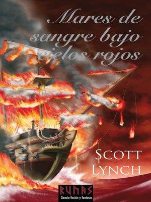 cover image of Mares de sangre bajo cielos rojos