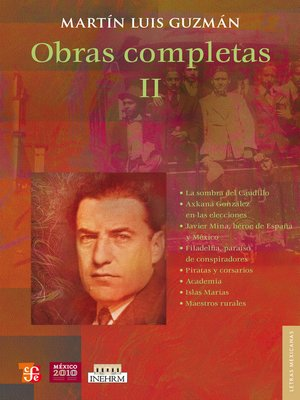 cover image of Obras completas, 2