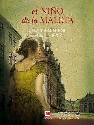 cover image of El niño de la maleta