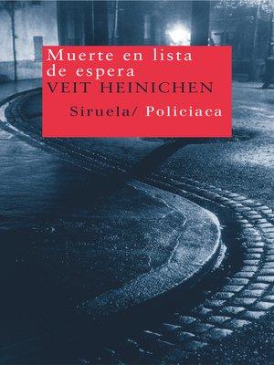 cover image of Muerte en lista de espera