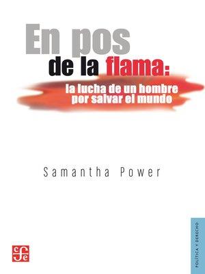 cover image of En pos de la flama