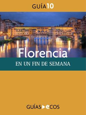 cover image of Florencia. En un fin de semana