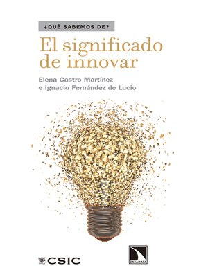 cover image of El significado de innovar