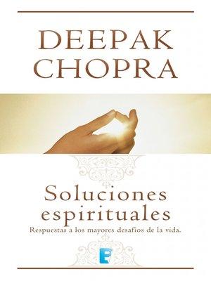 cover image of Soluciones espirituales