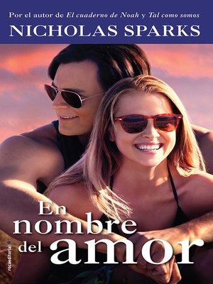 cover image of En nombre del amor