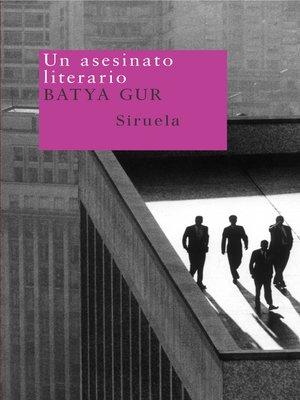 cover image of Un asesinato literario