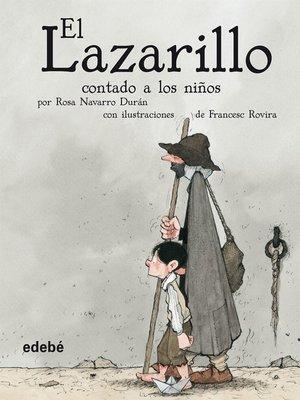cover image of El Lazarillo contado a los niños